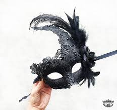 mask with feathers masquerade mask black masquerade mask masquerade mask