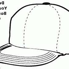 awesome baseball cap coloring page coloring sun