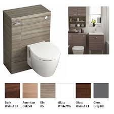 ideal standard concept space toilet unit with left hand storage