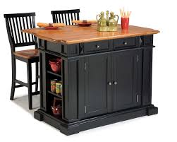 home styles kitchen island and two stools