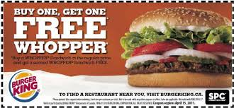 coupons for restaurants burger king coupons printable coupons online