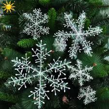 aliexpress buy 30pcs white snowflake ornaments