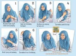simple hijab styles tutorial segi empat hijab tutorial paris curly style hijab wanita cantik