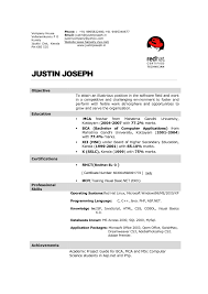 resume format download for freshers bca internet mca fresher resume format resume for study