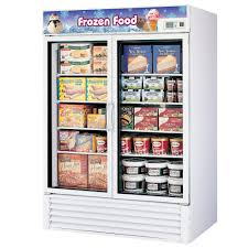 fridge freezer glass door turbo air tgf 49f white 54