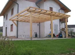 tettoia legno auto posto auto in legno realizzazione posto auto in legno