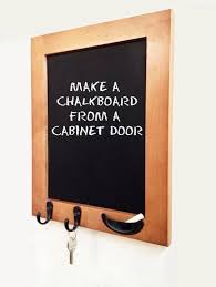 How To Make Cabinet Door How To Make A Chalkboard From A Cabinet Door Snapguide