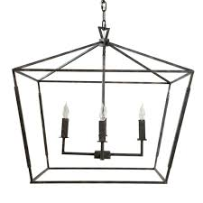 Dining Lighting Gabby Arnold Small Chandelier Bronze Square Pendants