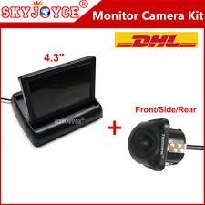 10 x parking assist 4 3 inch folding car in dash monitor video