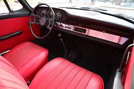 porsche red interior aga blue 1966 porsche 912 for sale the motoring enthusiast