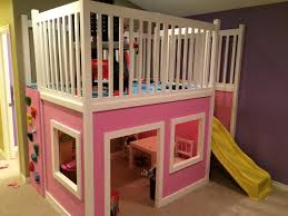 Cottage Loft Bed Plans by Gorgeous Playhouse Loft Bed Plans And Ana White Little Cottage