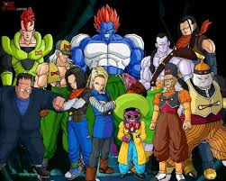 all androids the androids of universe 7 dragonballz amino