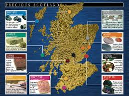 Production Map Gem Quality Mining Countries Jeweller Draws Up Unique Map Of Precious Scotland With Help Of Pr