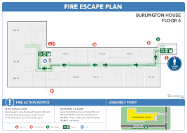 fire escape floor plan evacuation plans for flats and apartments silverbear design