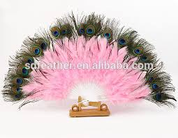 feather fans peacock feather fan for party fashioned masquerade props handmade