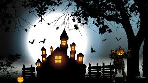 spooky desktop wallpaper haunted tag wallpapers light darkness sun rays sky dark trees