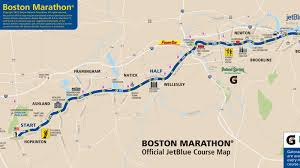 Copley Square Boston Map by Boston Marathon 2013 Route Information Course Map And More