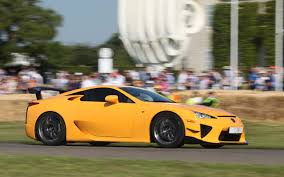 lexus lfa crash lexus lfa nurburgring edition climbs the hill motor trend