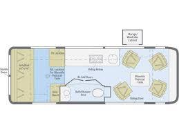 Class B Floor Plans by 2018 Winnebago Era 170x Meridian Id Rvtrader Com