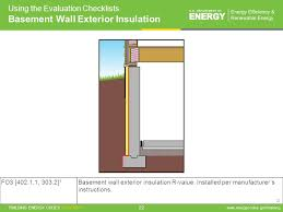 Exterior Basement Wall Insulation by Residential Evaluator Training Ppt Download