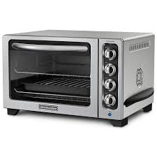 What To Use A Toaster Oven For Amazon Com Kitchenaid Kco223cu 12 Inch Convection Countertop Oven