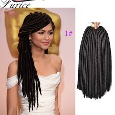 synthetic hair extensions faux locs goddess crochet dreads extensions crochet braiding hair