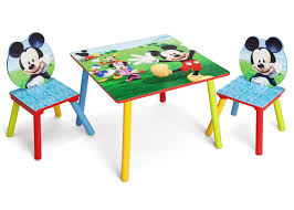 mickey mouse end table mickey mouse table chair set delta children