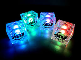 light up cubes light up led cubes with custom printing nitepromos