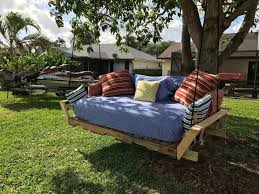 pallet swing bed modified idea found on pinterest hometalk
