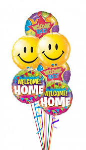 welcome home balloon bouquet welcome home welcome back balloon bouquet welcome home welcome