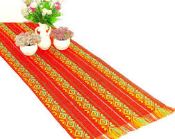 Mexican Table Runner Cinco De Mayo Party Decorations 14x72 Inches Mexican Table