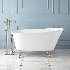 carine cast iron slipper clawfoot tub bathroom