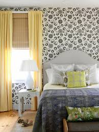 White Rose Bedroom Wallpaper 15 Black And White Bedrooms Hgtv