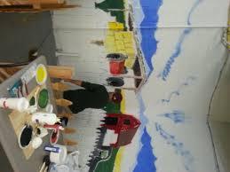 new farm mural at four seasons four seasons farmers artisans brian mural