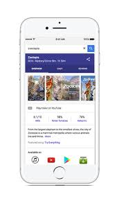 google search on ios will now help you find tv shows movies and