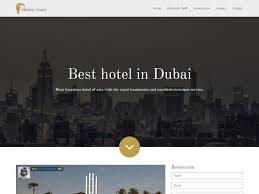 12 free hotel html website templates templatemag