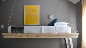 How To Make A Hanging Bed Frame Room Amazing Diy Hanging Beds With Diy Bed Frame Diy