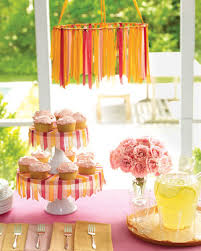 How To Make A Balloon Chandelier Our Best Baby Shower Decorations Martha Stewart