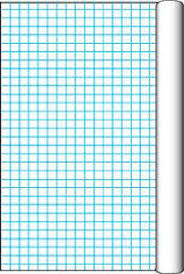 amazon com pacon grid roll with 1 inch grid rule 34 1 2 inch x