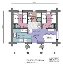hunting lodge floor plans rcm cad 14
