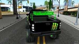jeep monster energy chevrolet silverado monster energy v2 for gta san andreas
