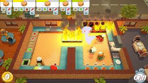 geux de cuisine overcooked la cuisine aussi sur switch jeux vidéo switch