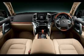 Toyota Land Cruiser Interior Toyota Land Cruiser Review And Photos