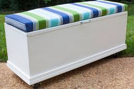 Garden Storage Bench Build by Build A Rolling Storage Bench Garden Club