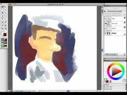 how to draw cartoon doodles with a wacom intuos in corel painter