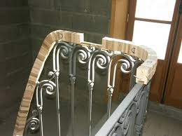 How To Make A Wooden Handrail On Metal Rail 1st Part Stair