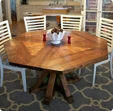 Stunning Octagon Kitchen Table To Complete The Perfection Under - Octagon kitchen table