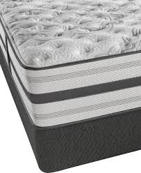 Simmons Natural Comfort Mattresses Beautyrest Platinum Kimi Extra Firm King Mattress