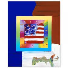 Painting A Flag Online Sports Memorabilia Auction Pristine Auction
