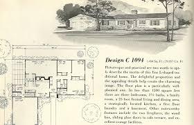 Historic Floor Plans Vintage 1960s House Plans Home Deco Plans